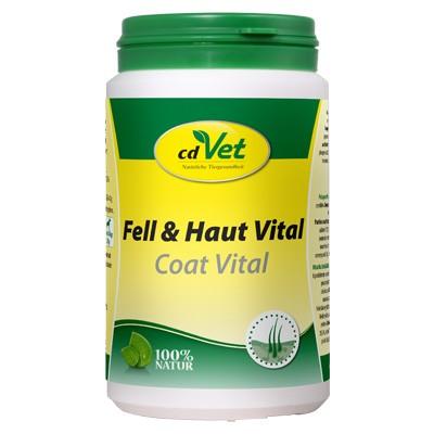 Fell & Haut Vital Pulver von cdVet für gesundes Fell bei deiner Katze