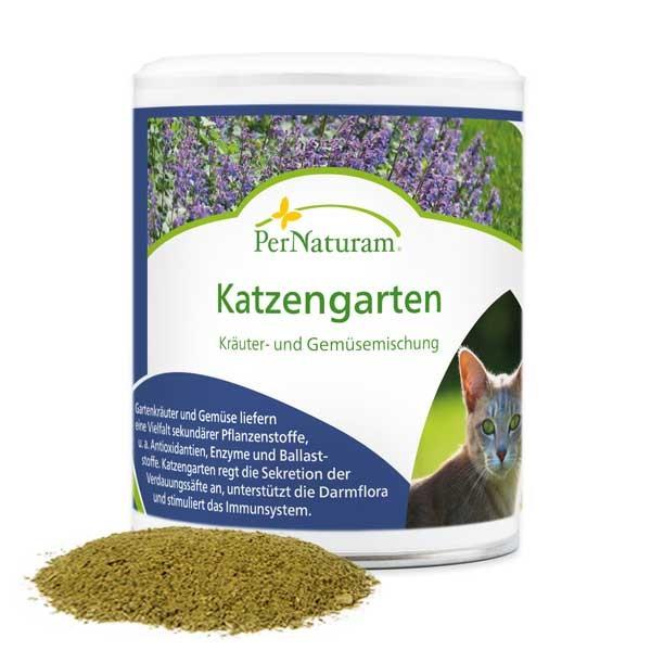 Katzengarten - Kräuter und Gemüse für gesunde Katzen von PerNaturam