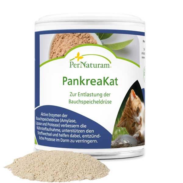 PankreaKat von PerNaturam stärkt Bauchspeicheldrüse und Verdauung deiner Katze