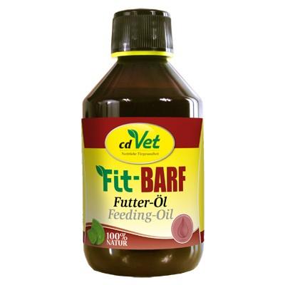 Fit-Barf Futter-Öl von cdVet - der Vital-Booster für Katzen