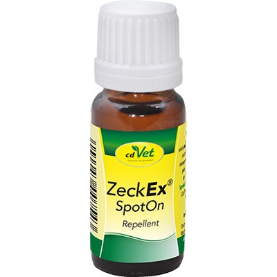ZeckEx SpotOn von cdVet - natürlicher Zeckenschutz für Katzen