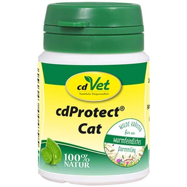 cdProtect Cat für Katzen für starke Wurm-Abwehr von cdVet