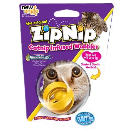 ZipNip Shake & Wobbler Ball mit Katzenminze-Duft von new angle